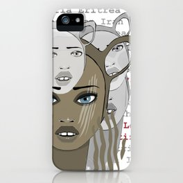 I WOULD RATHER BE WITH YOU iPhone Case