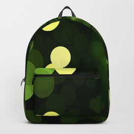 Sky Full of Diamonds (lemon & lime) Backpack