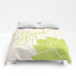 Be Hopeful Comforters