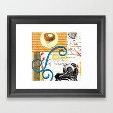 The Underwater Nest Framed Art Print