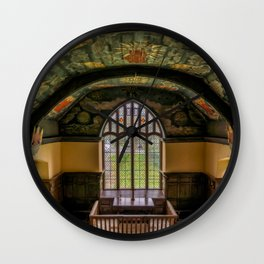 Sun and Moon Chapel Wall Clock