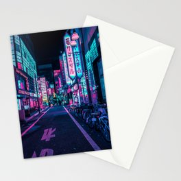 A Neon Wonderland called Tokyo Stationery Cards