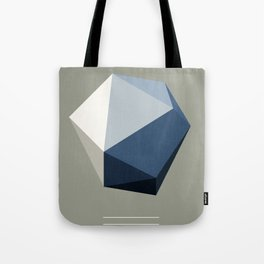 Minimal Geometric Polygon Art Tote Bag