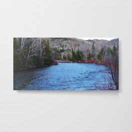 River in Nature Metal Print