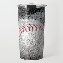 Baseball print work vs 1 Travel Mug