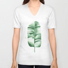 Banana Leaf no.8 Unisex V-Neck