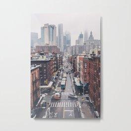 NYC Winter Metal Print