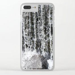 Waterfall II Clear iPhone Case
