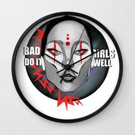 Bad girls do it well Wall Clock