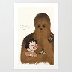 Wookiee Art Print