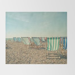 A Sea View Throw Blanket