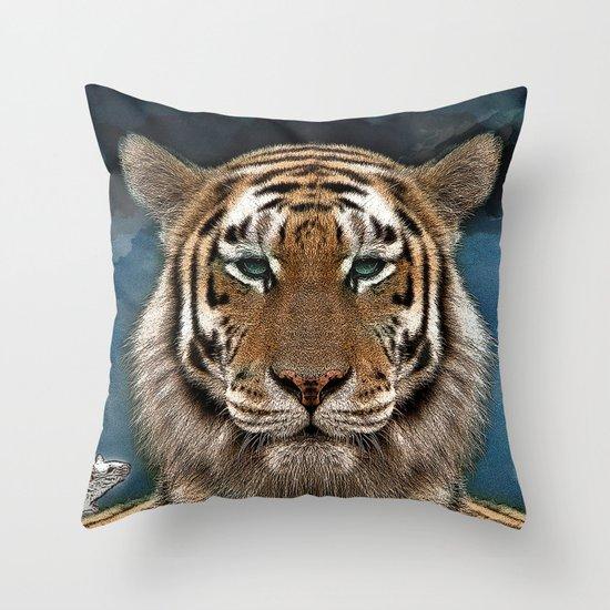 Sumatra and tiny Throw Pillow