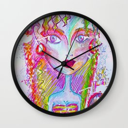 """""""Be Groovy or Leave, Man."""" Bob Dylan Wall Clock"""