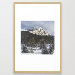 Canada's Rocky Mountains Framed Art Print