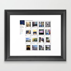 FREE SHIPPING on all Artwork !!!!!! Until Sept. 30th 2012 Framed Art Print