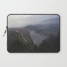Storms over the Columbia River Gorge Laptop Sleeve