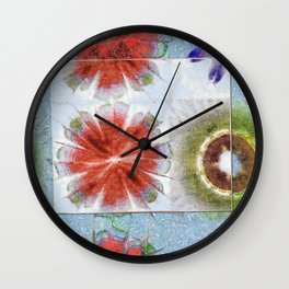 Uncrazy Peeled Flowers  ID:16165-053051-02651 Wall Clock