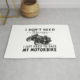 RACE MY MOTORBIKE Rug