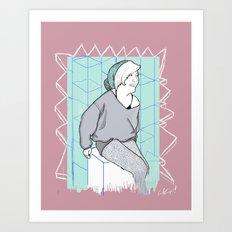 kat Art Print