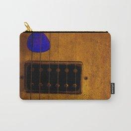 Blue Plectrum Carry-All Pouch