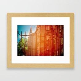 Outside The Gate Framed Art Print