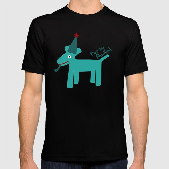 Party Animal-Teal T-shirt