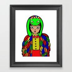 Quetzacoatl Framed Art Print