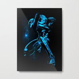 Metroid I Metal Print