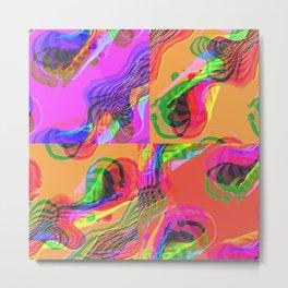 Montage cloud Metal Print