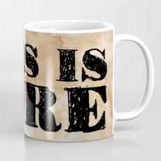 Less is More. Mug