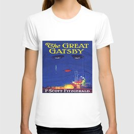 The Great Gatsby vintage book cover - Fitzgerald T-shirt