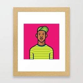Prince of Bel Air Framed Art Print