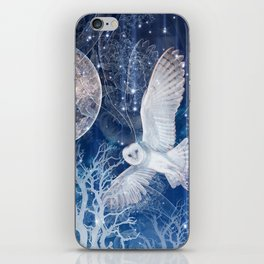 The Temple of the Full Moon iPhone Skin