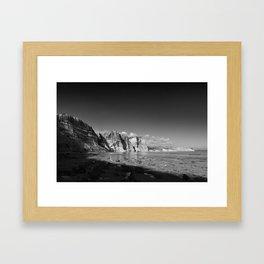 Seeing time Framed Art Print