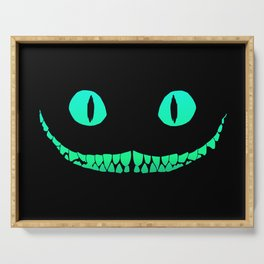 Cheshire black smile Serving Tray