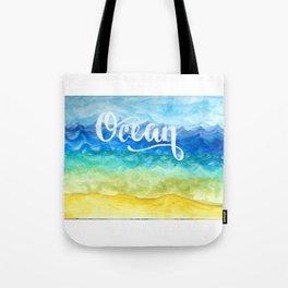 Ocean Side Tote Bag