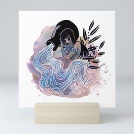 Aquarius Mini Art Print