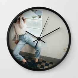 Fashion in building Wall Clock