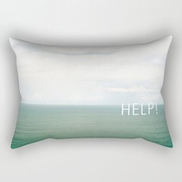 Help. Rectangular Pillow