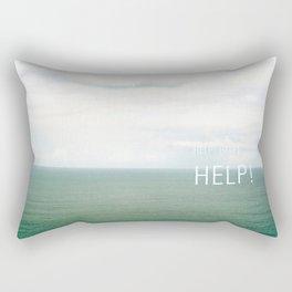 Help. Rectangular Pillow