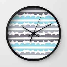 Mordidas Island Paradise Wall Clock