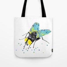 Geosafari | Fly (White) Tote Bag