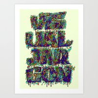 Visual Jargon Art Print