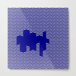 rad pattern Metal Print