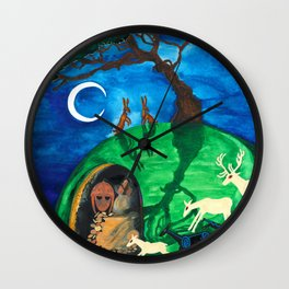 The Enchantment Wall Clock
