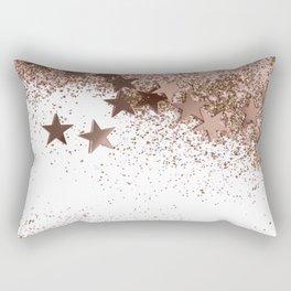 SHAKY STARS ROSEGOLD Rectangular Pillow