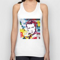 rebel Tank Tops featuring Rebel by Paky Gagliano