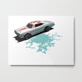 Little Car (remix) Metal Print
