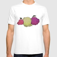 Cows love ice cream Mens Fitted Tee MEDIUM White