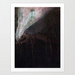 Disquieting Torpor Art Print